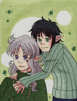 Kui and Greene by skelly-jelly
