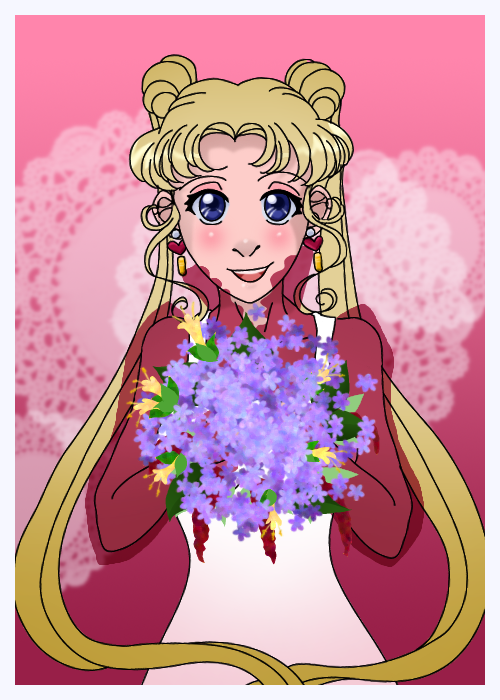 Happy Valentine Tsukino Usagi By Skelly Jelly On Deviantart