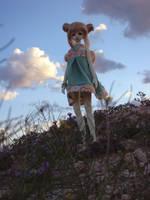 Caroline in the desert