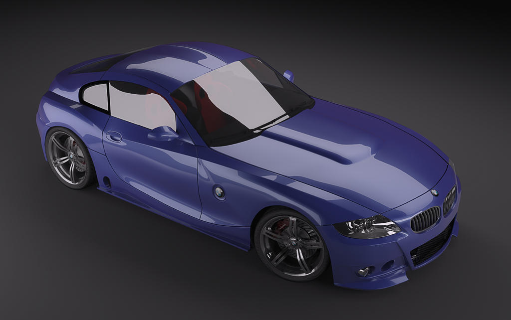 Bmw Z4 Coupe Modified 01 By Pisci On Deviantart