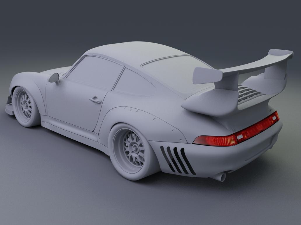 Porsch 993 911 GT2 Racer WIP08 by Pisci