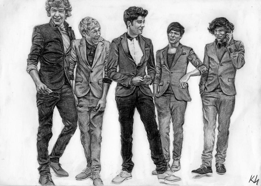 One Direction 4 by Csillipepper