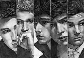 One Direction 5 by Csillipepper