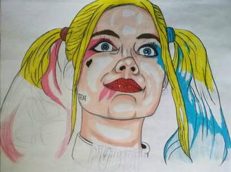 Harley Quinn_SuicideSquad wip by MetalHeadvega