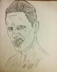 Jared Leto_Suicide Squad sketch wip by MetalHeadvega