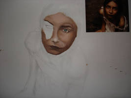 step of my drawing 9