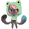 Froggie {pixel} by mint-muffin
