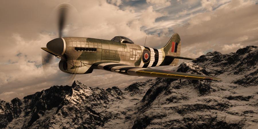 Hawker Tempest by SwissAdA