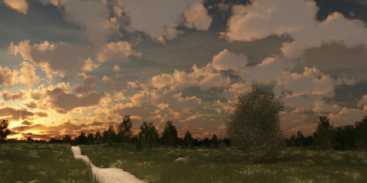 Sunset by SwissAdA
