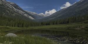 Lake valley by SwissAdA