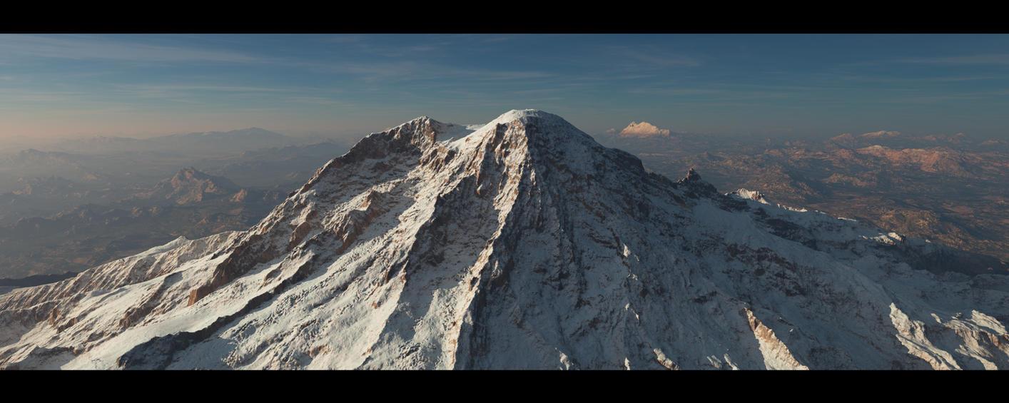 the big mountain by SwissAdA
