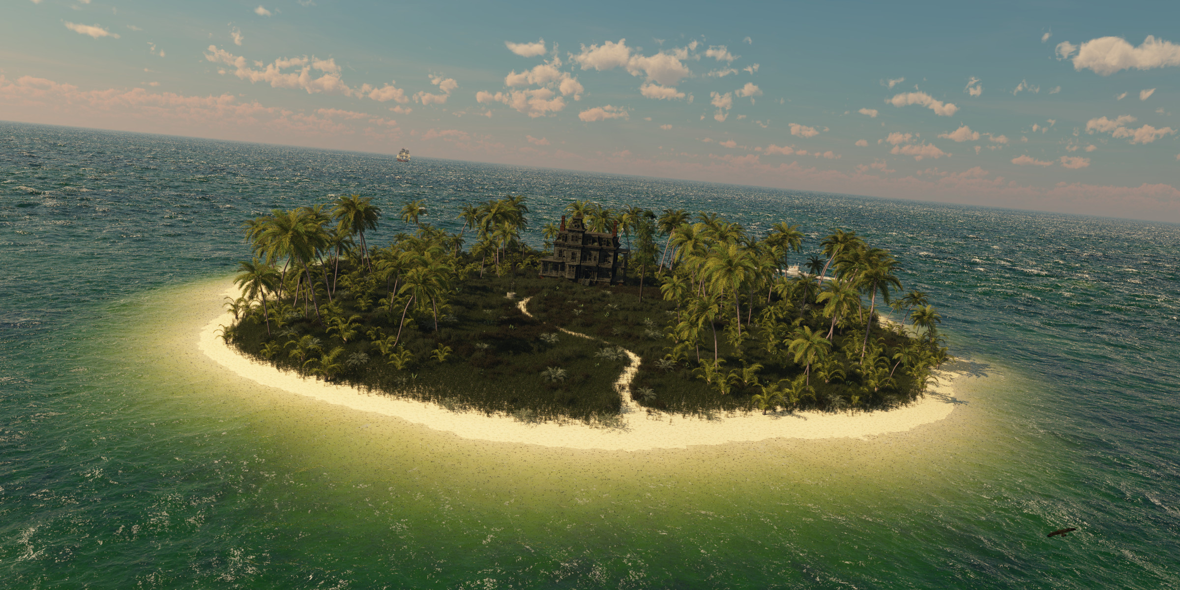 my little dream island by SwissAdA