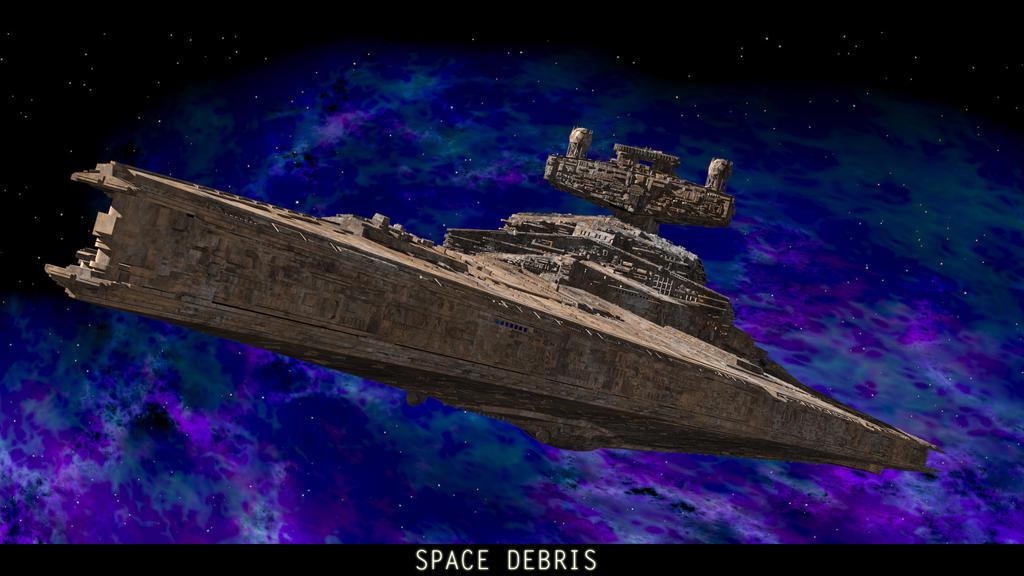Space Debris by SwissAdA