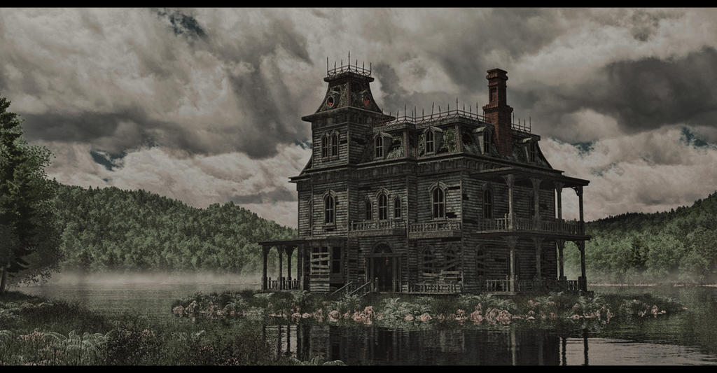 the haunted house by SwissAdA