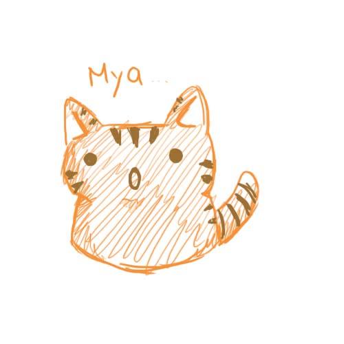 Cute Chibi Tiger Chibi Tiger by ai Nikoniko