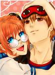 Okita and Kagura