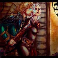 Darktown by CarrotCakeBandit