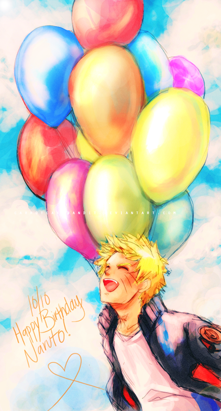 "[Naruto Fan Club] HAPPY BIRTHDAY TO NARUTO-KUN ! :""> Happy_birthday_naruto_by_carrotcakebandit-d4ce020"