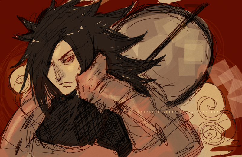 madara by CarrotCakeBandit
