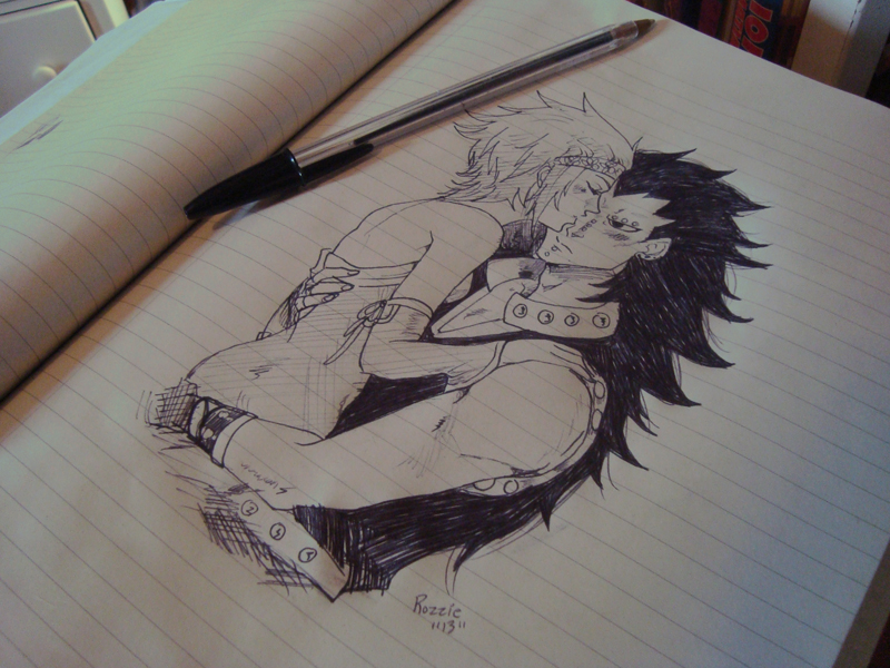 dibujo manga guarro:
