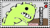 I love Mr.Roary Stamp by MomoDeez