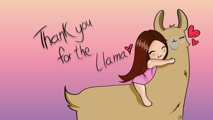 Thank you for the llama!