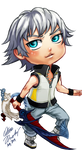 COMM: Chibi DDD Riku