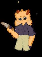 goat with da knife