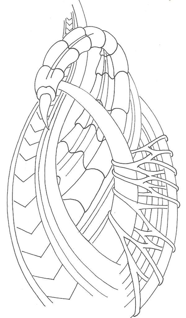 how to draw biomechanical tattoo designs