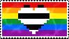 Heteroromantic Homosexual stamp by AccursedRainbow