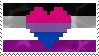 Biromantic Asexual stamp by AccursedRainbow