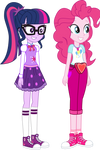Sci-Twi and Pinkie