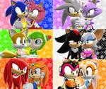 Sonic Couples by luvanddeathinall