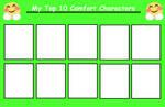 My Top 10 Comfort Characters [BLANK MEME]