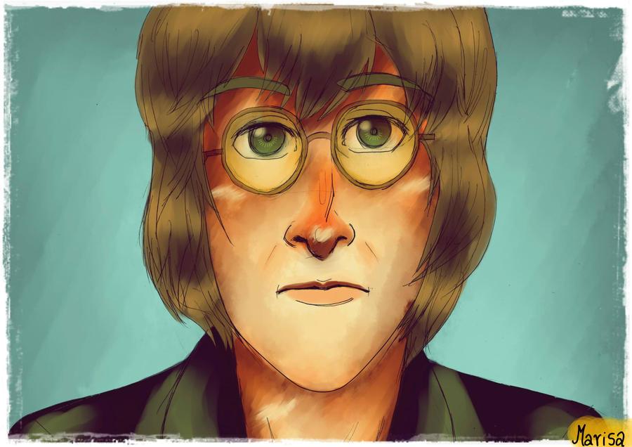 John Lennon by arctic-sunsett