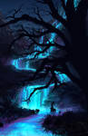 Glowing River