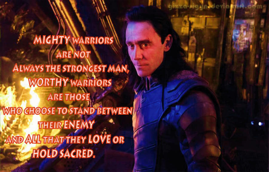 Worthy Prince  Lokisday By Gizza Sigyn SP by Gizza-Sigyn