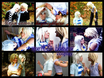 marik and bakura cosplay collage by yugiohlover911