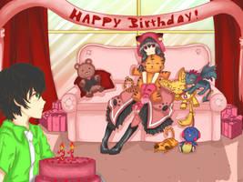 Destructors Birthday by Akainai