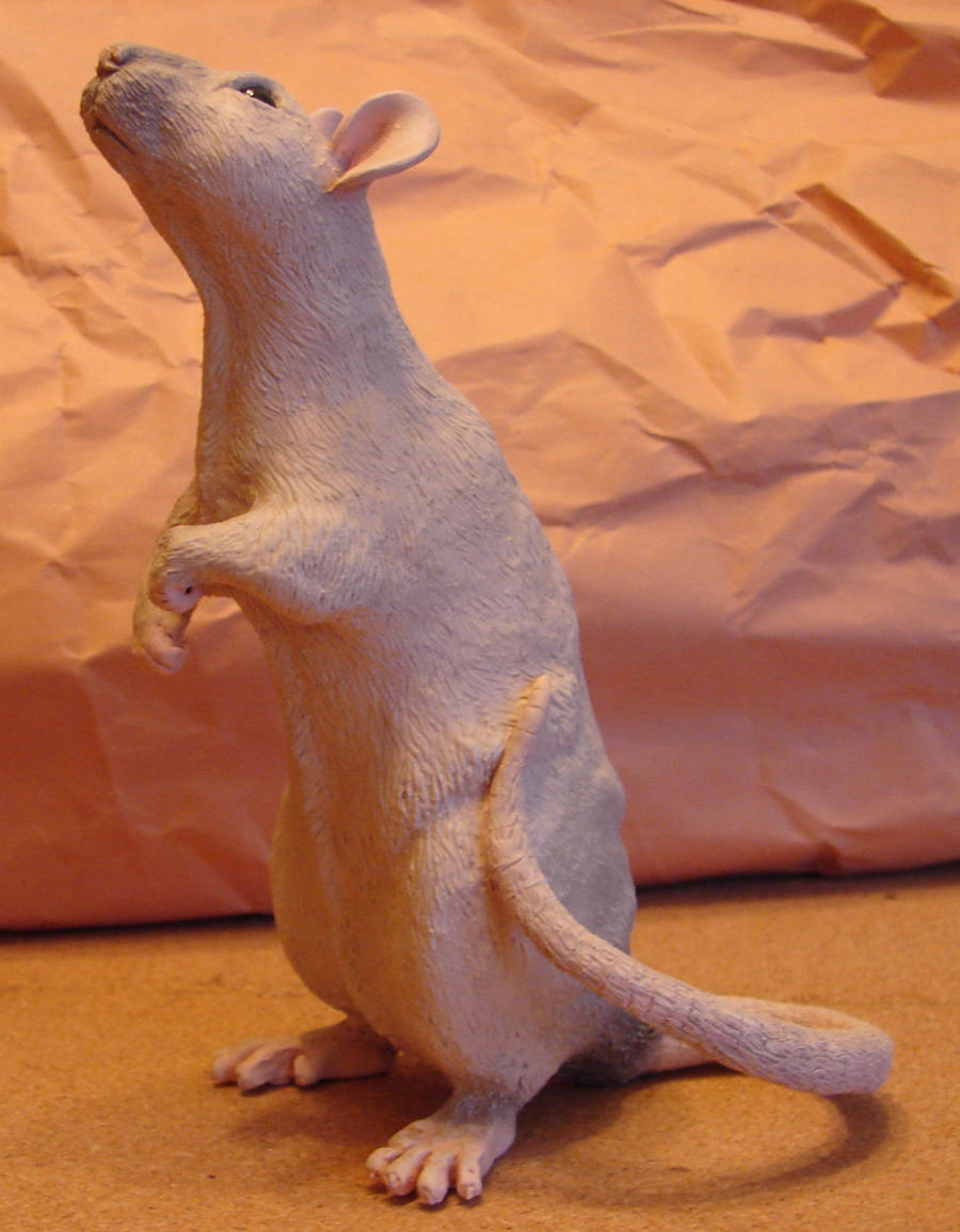 Oli Rat Sculpture: complete by philosophyfox