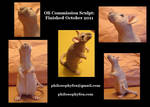 Oli Rat Sculpture: alt. views