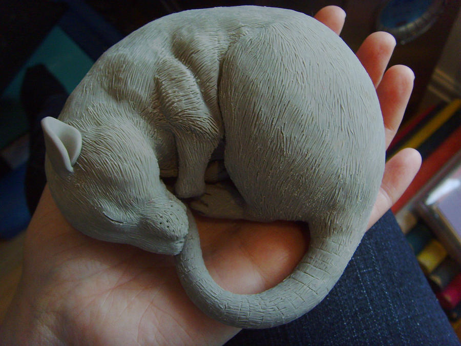 Rat Sculpture no 6 WIP by philosophyfox