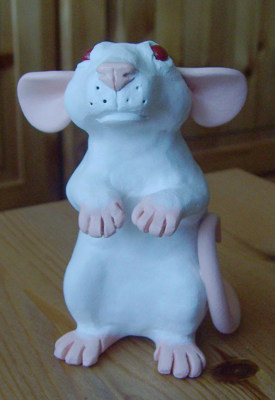 Simple Rat Figure view 1 by philosophyfox