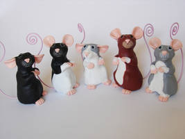 Memo Rats: The New Batch! by philosophyfox
