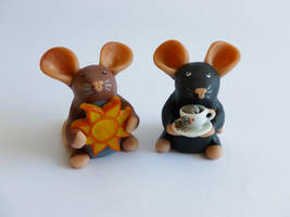 Custom Mini Rats by philosophyfox