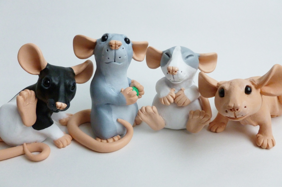 Mini Rats - Latest Batch by philosophyfox
