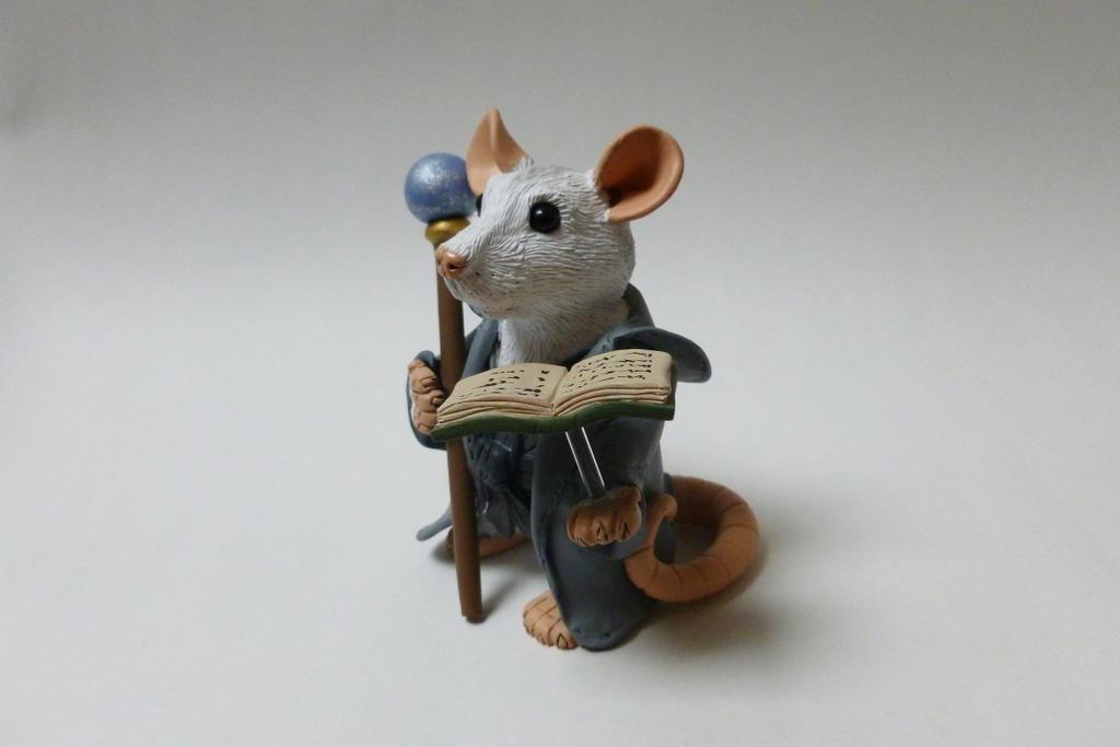 Merlin Rat Sculpture by philosophyfox