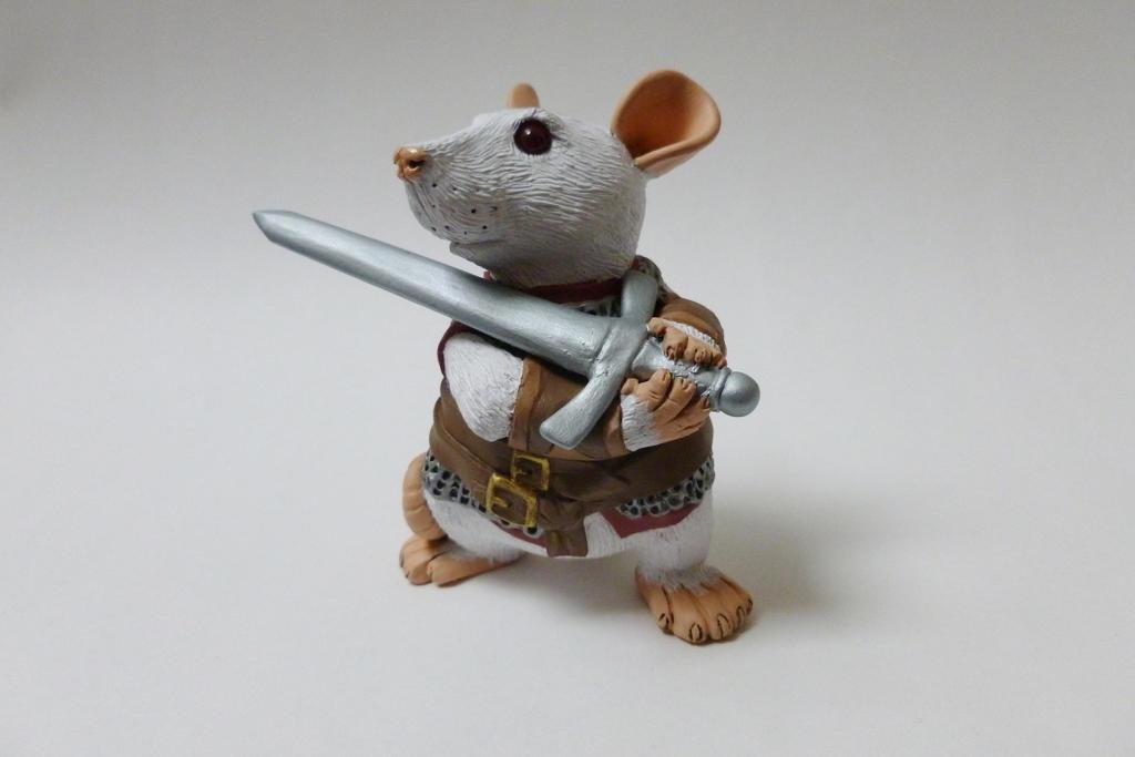 Percival Rat Sculpture by philosophyfox