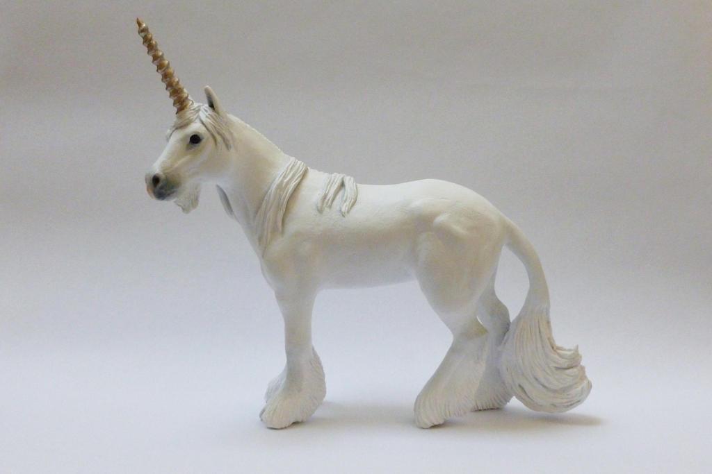 Unicorn Sculpture by philosophyfox
