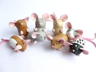 Dumpy Rats May 2019 by philosophyfox